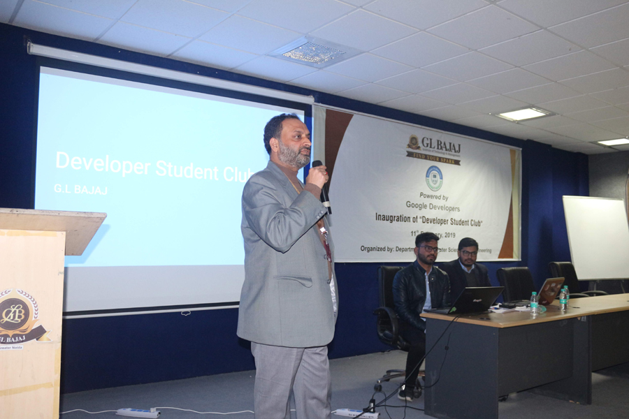 Workshop on Developer Student Club
